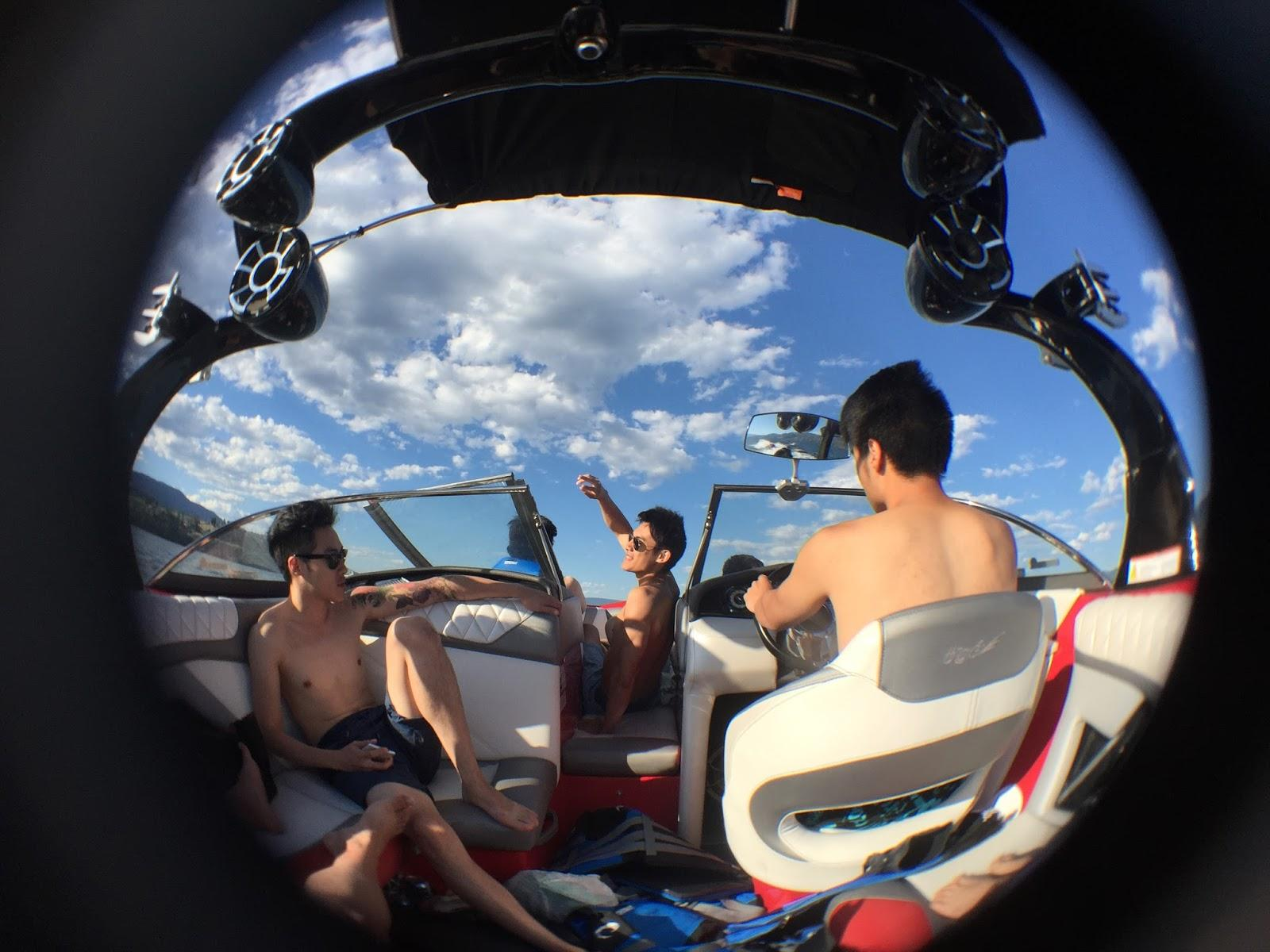 Boating in Kelowna