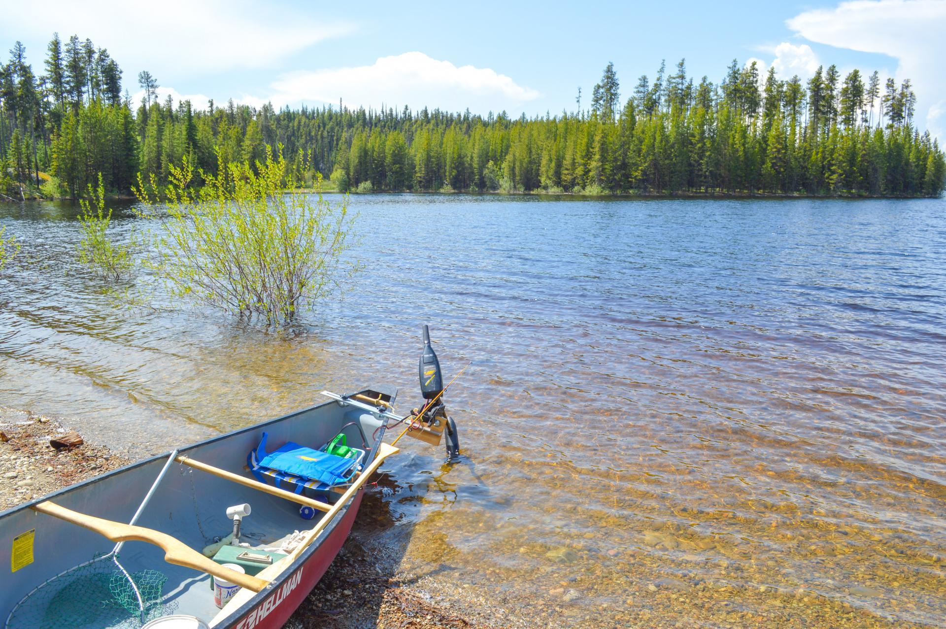 Fishing in the Okanagan
