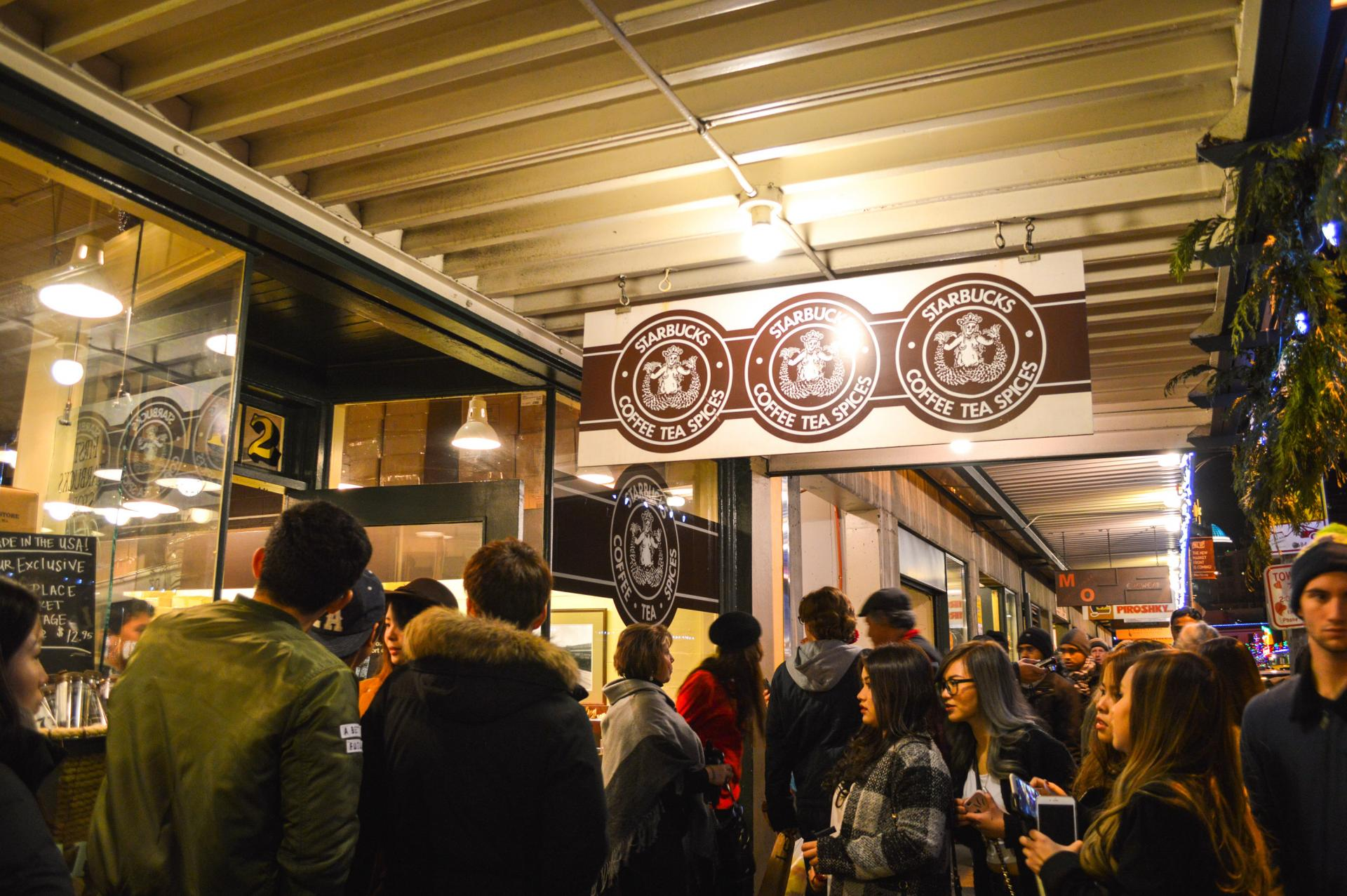 Seattle Original Starbucks