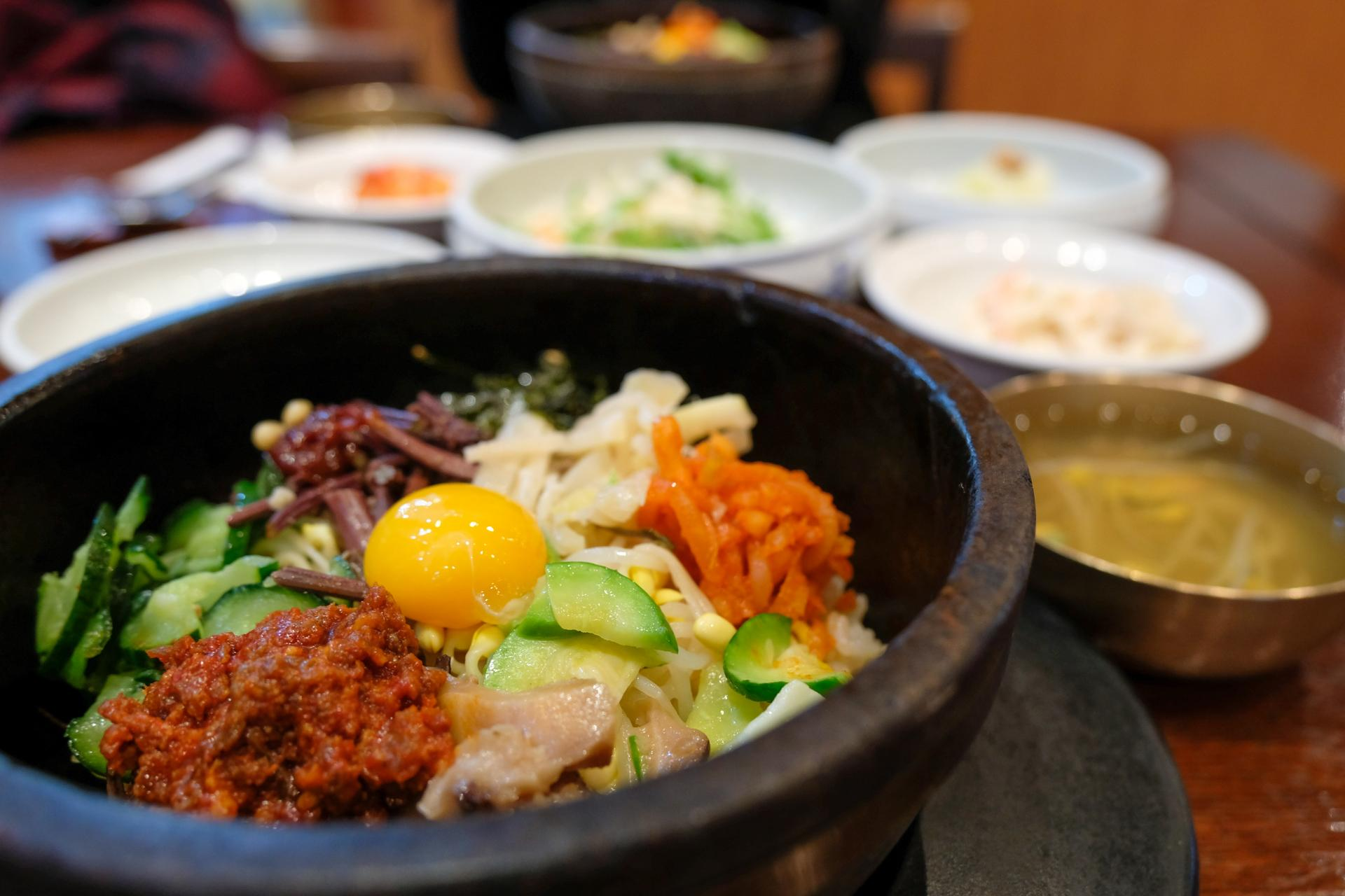 Bibimbap at Gogung