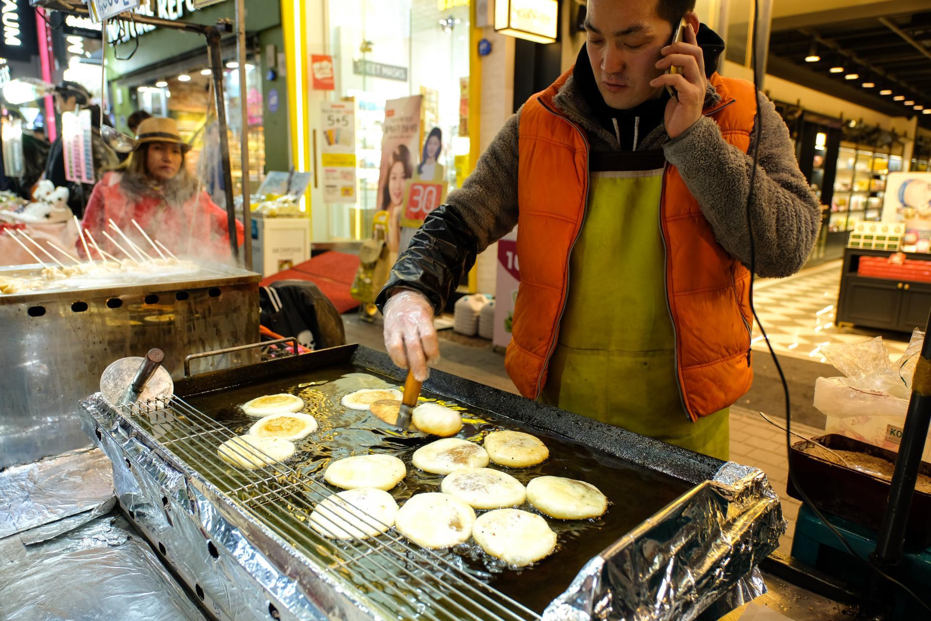 Street Food in Seoul