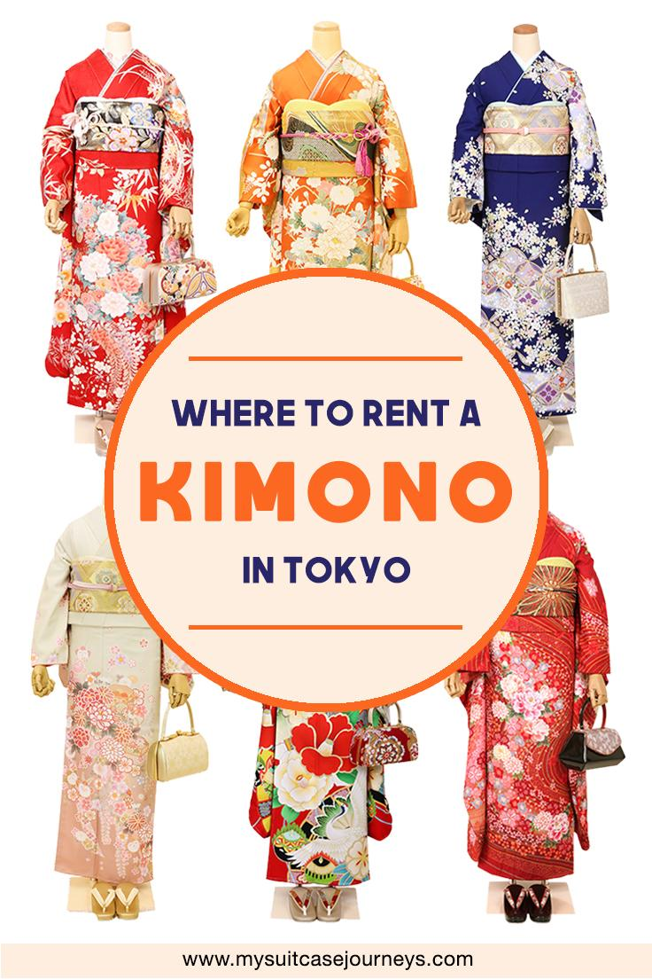Looking for where to rent a kimono in Tokyo for your upcoming trip? Book an appointment with this number one kimono rental in Tokyo!