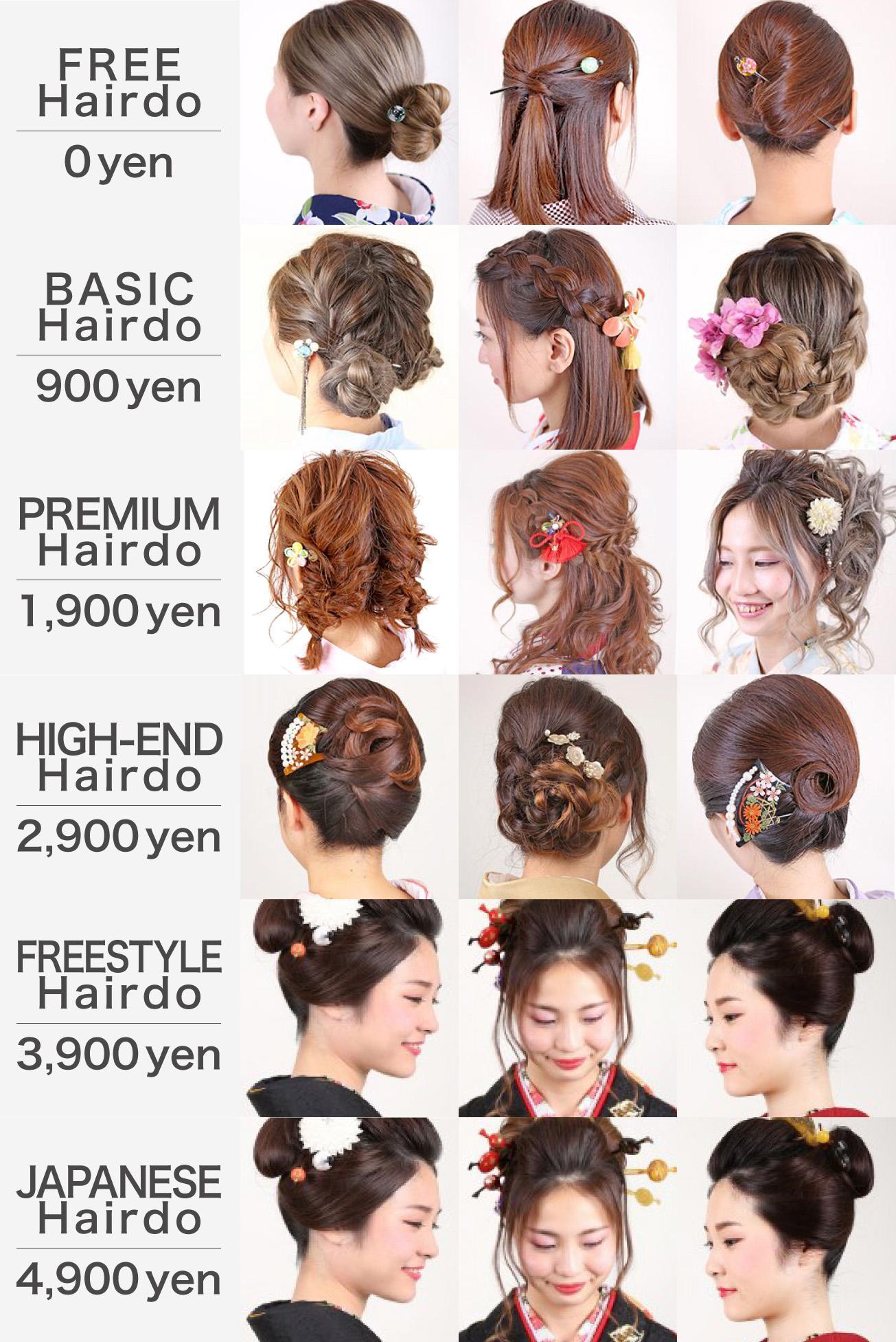 Wargo Kimono Rental Hairdo Styles
