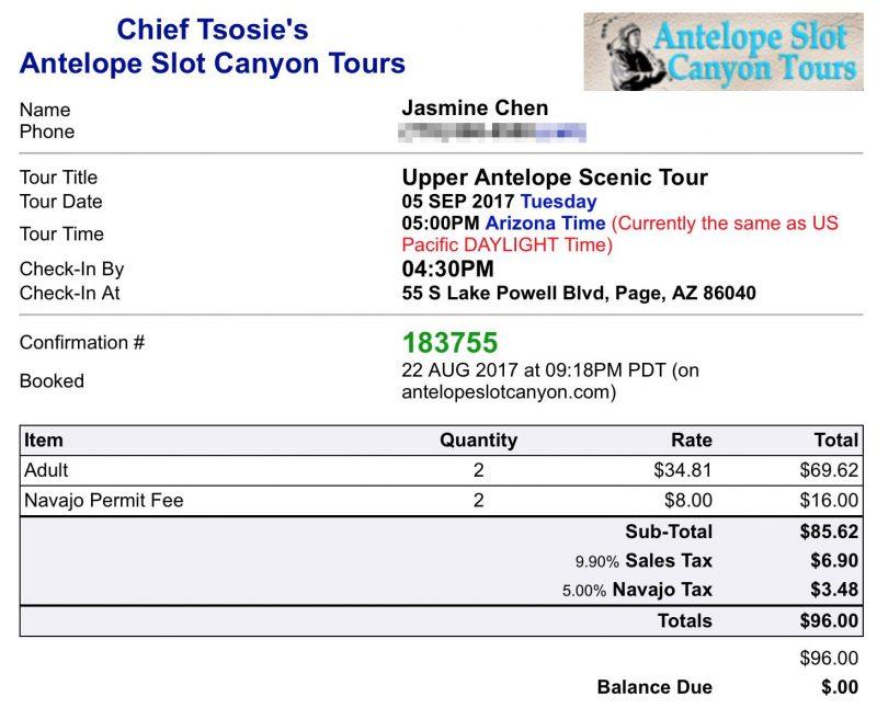 Upper Antelope Tour