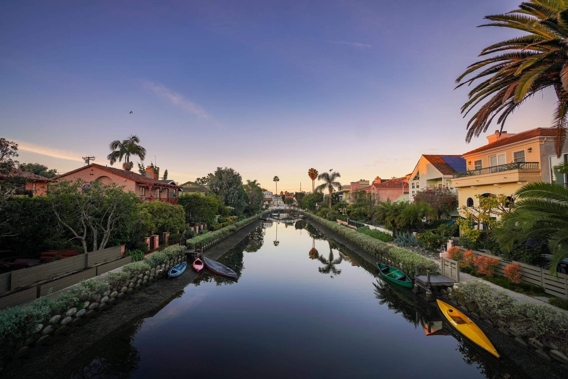 The Venice Canal Historic District