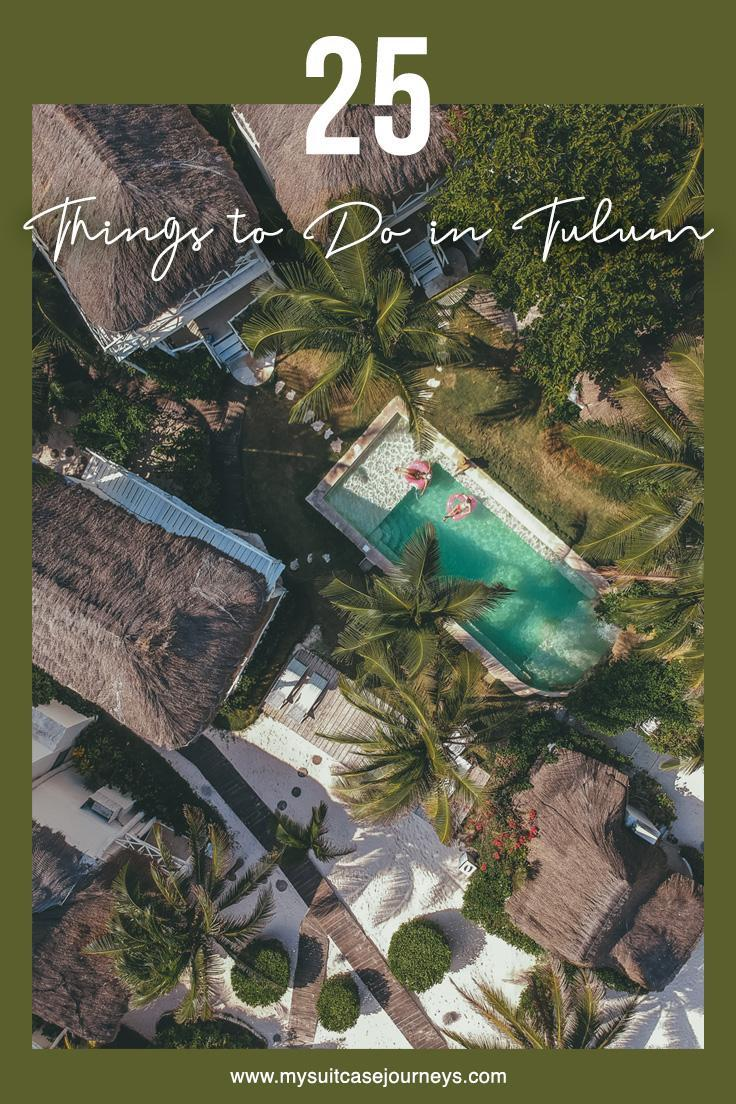 Looking for the perfect sun vacation destination? Here are 25 things to do in Tulum that will make you fall seriously in love with the Mexican Riviera Maya!