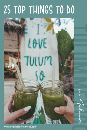 Looking for the perfect sun destination? Here are 25 things to do in Tulum, Mexico that will make you fall seriously in love!