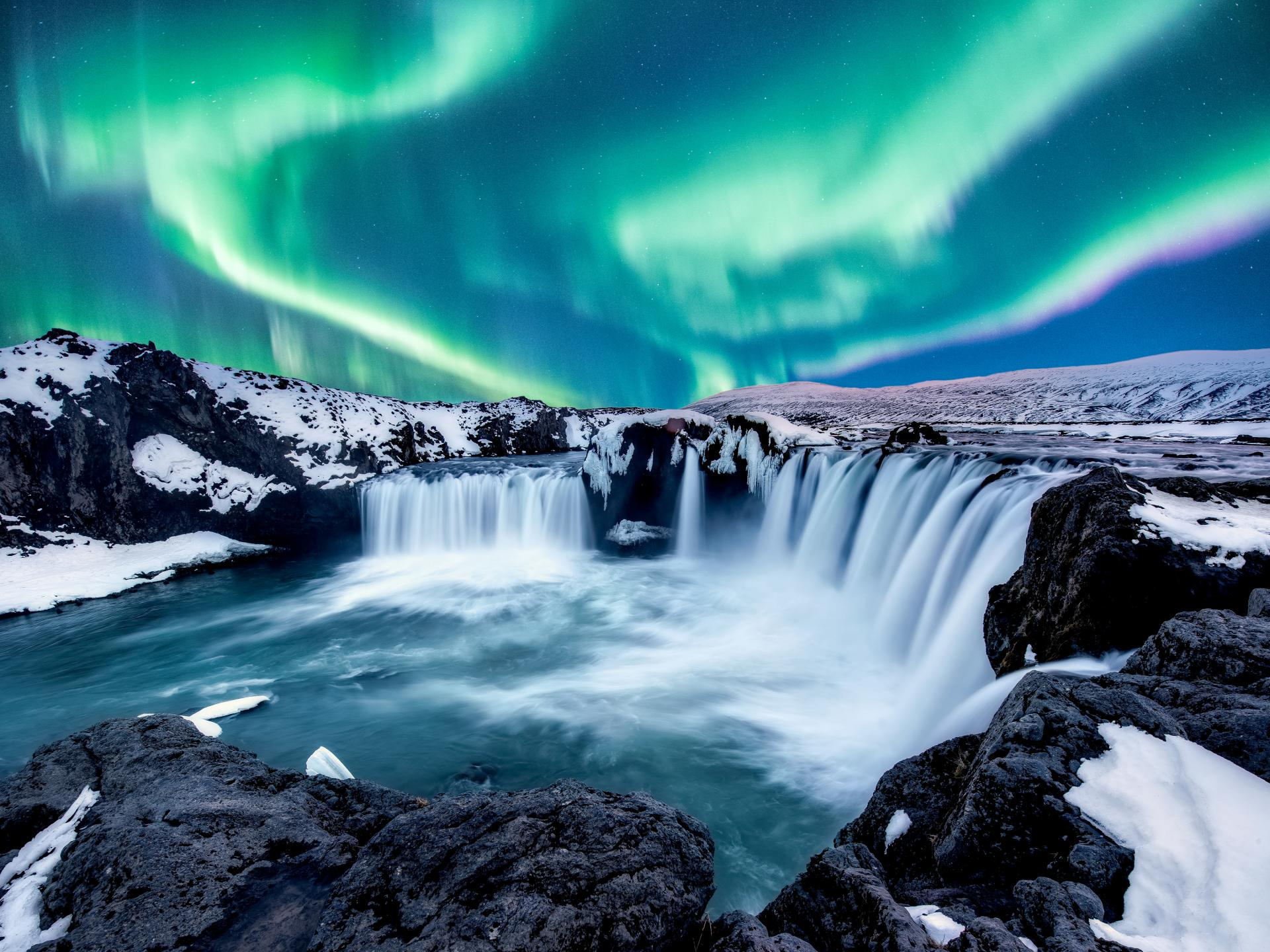 Best Time to See Northern Lights in Iceland - With Forecast Chart!