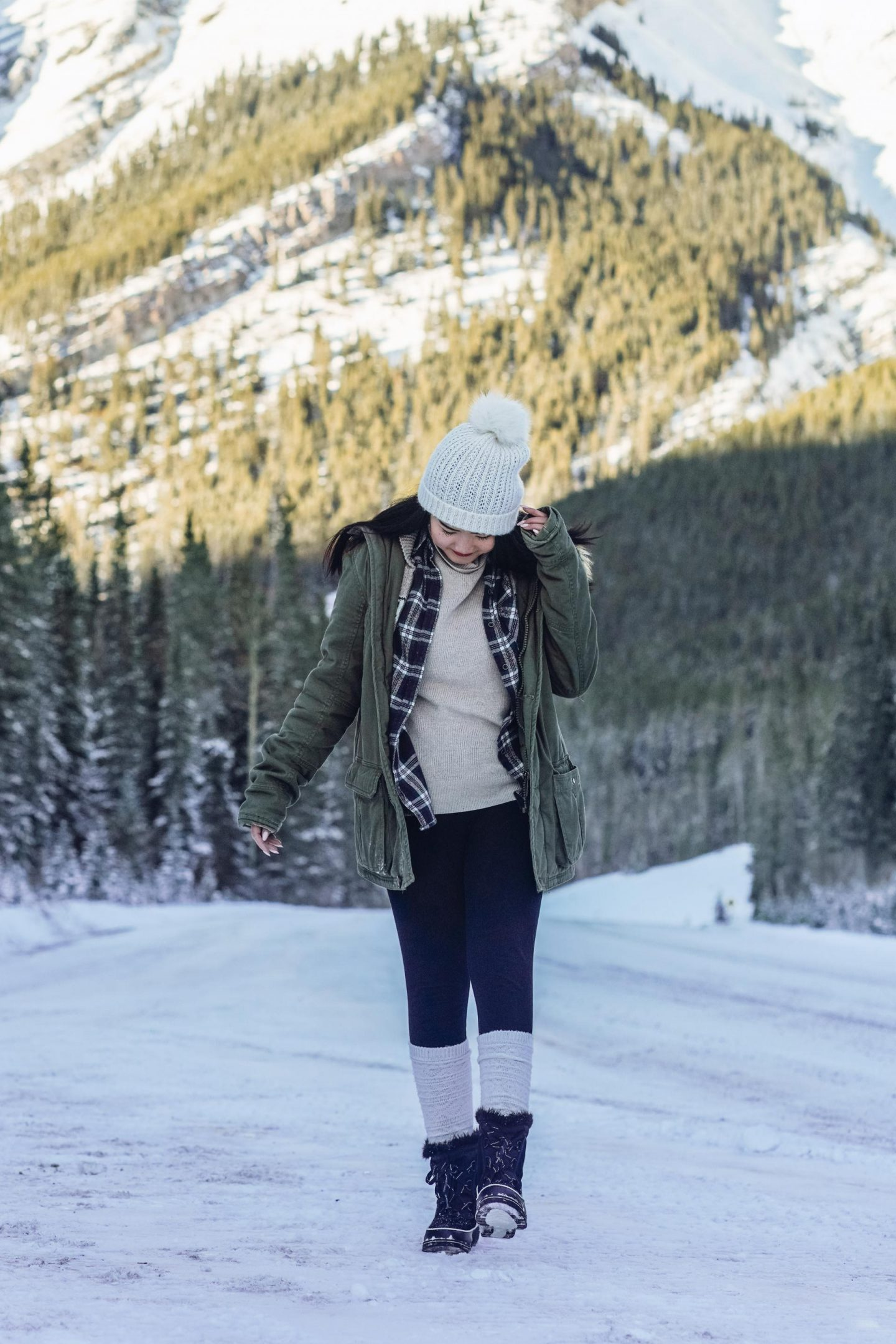 What to pack for Banff in January.