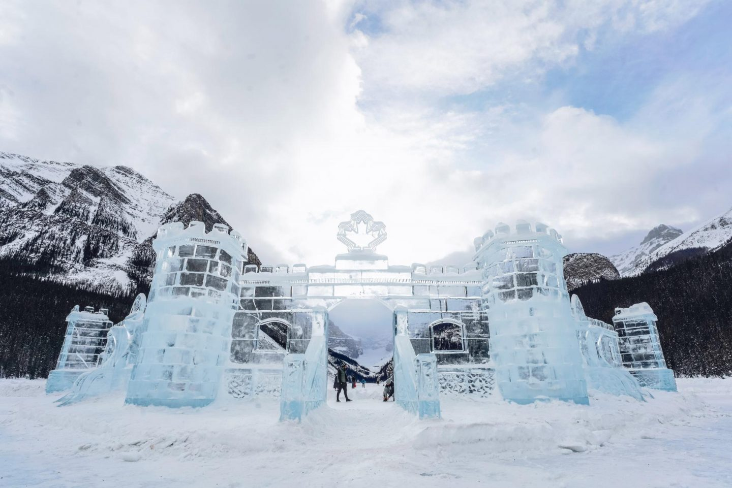 Ice Magic Festival at Lake Louise.