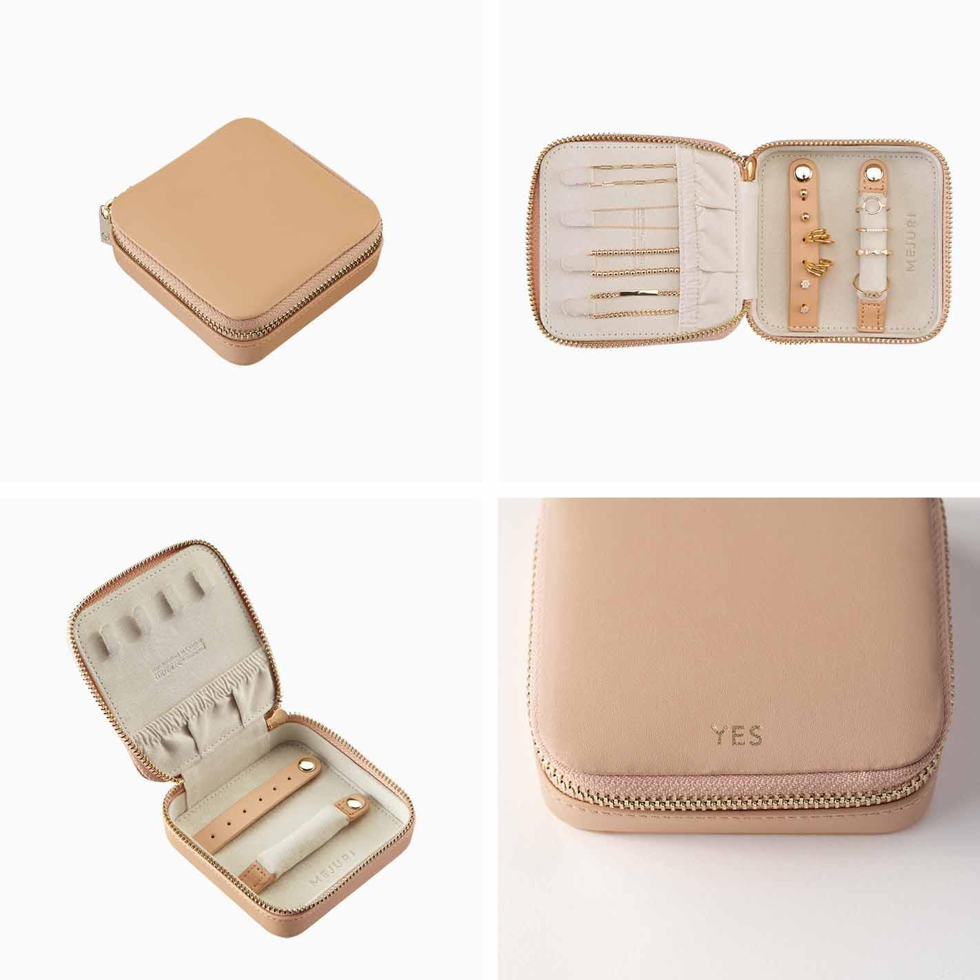 Jewelry travel case from Mejuri.