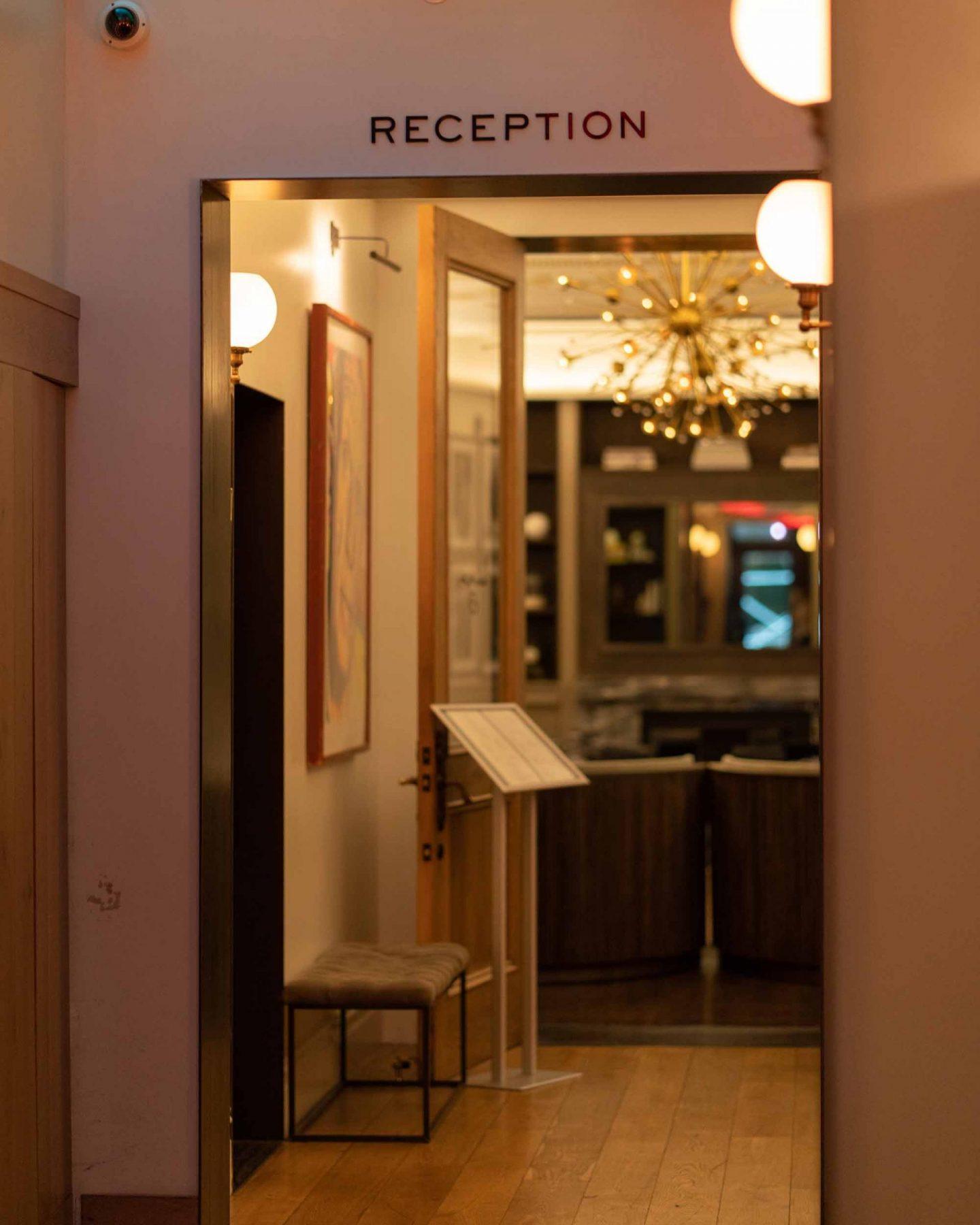 HGU New York hotel lobby.