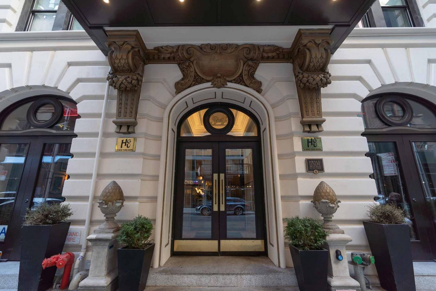 HGU New York hotel located in NoMad District.