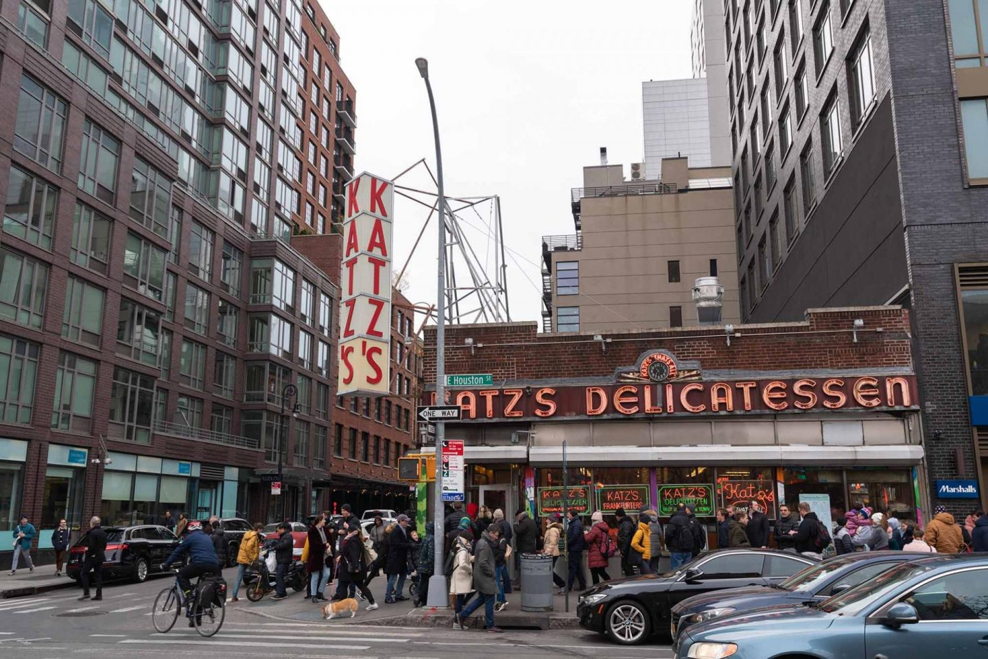 Lunch at Katz's Delicatessen.