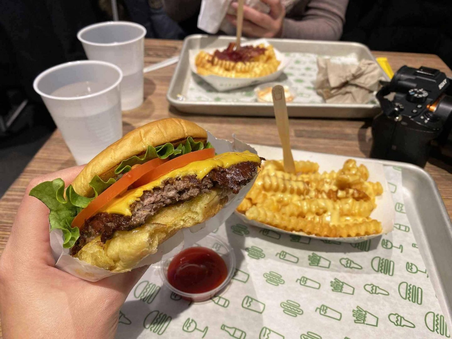 ShackBurger at Shake Shack.