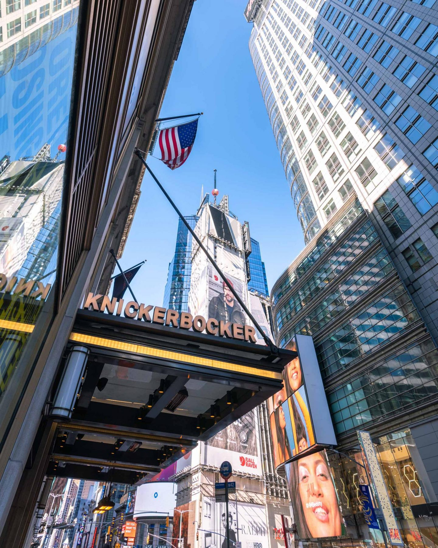 Full hotel review of The Knickerbocker in Times Square, New York.