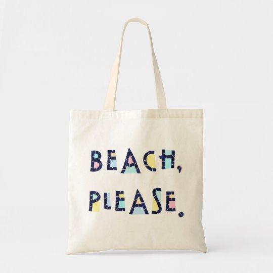 """Beach Please"" tote from Zazzle."