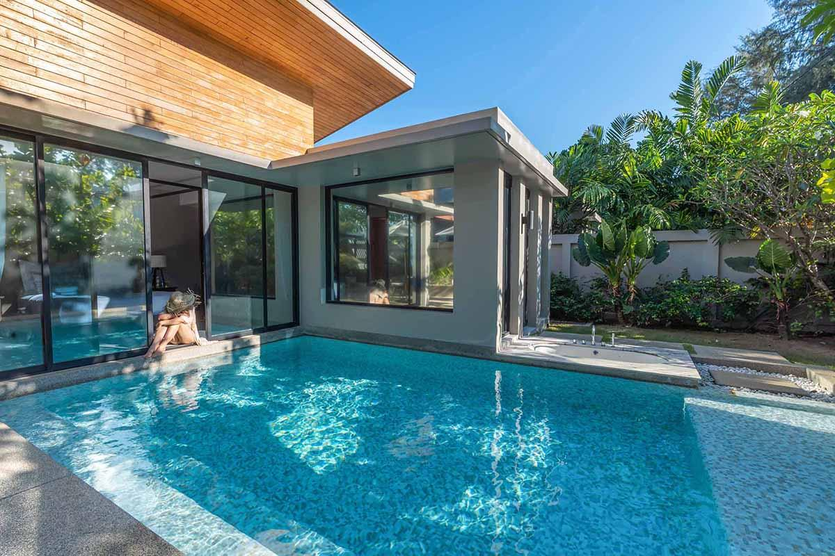 Grand Deluxe Pool Villa at Aleenta Phuket Resort & Spa.