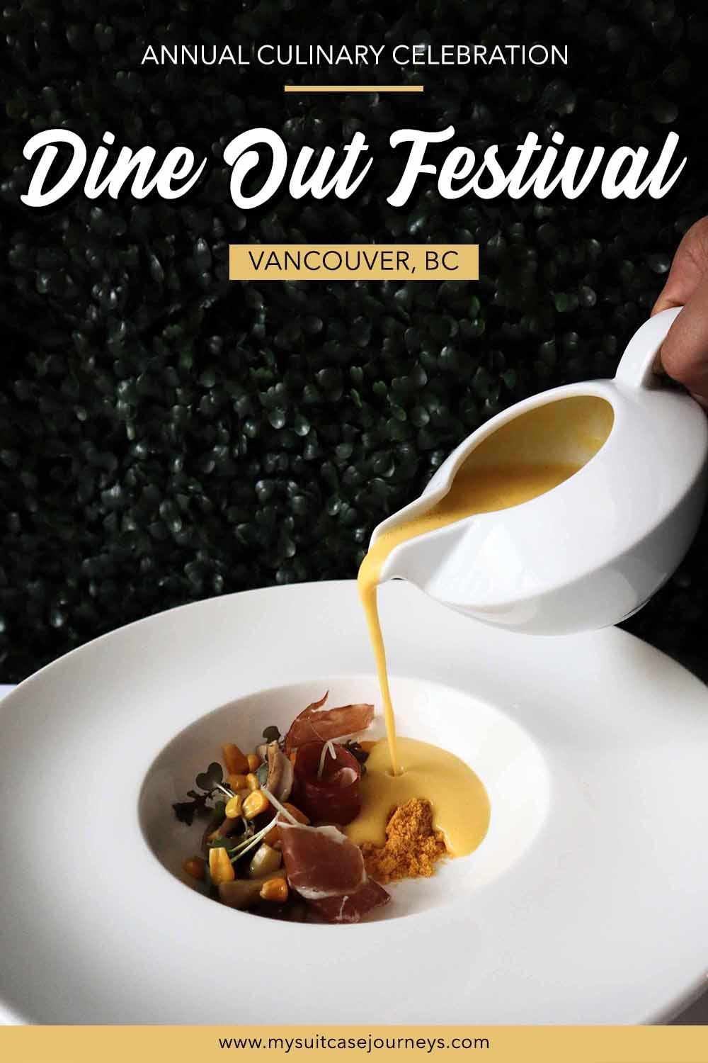 Dine Out Vancouver Festival - Canada's biggest annual culinary event!
