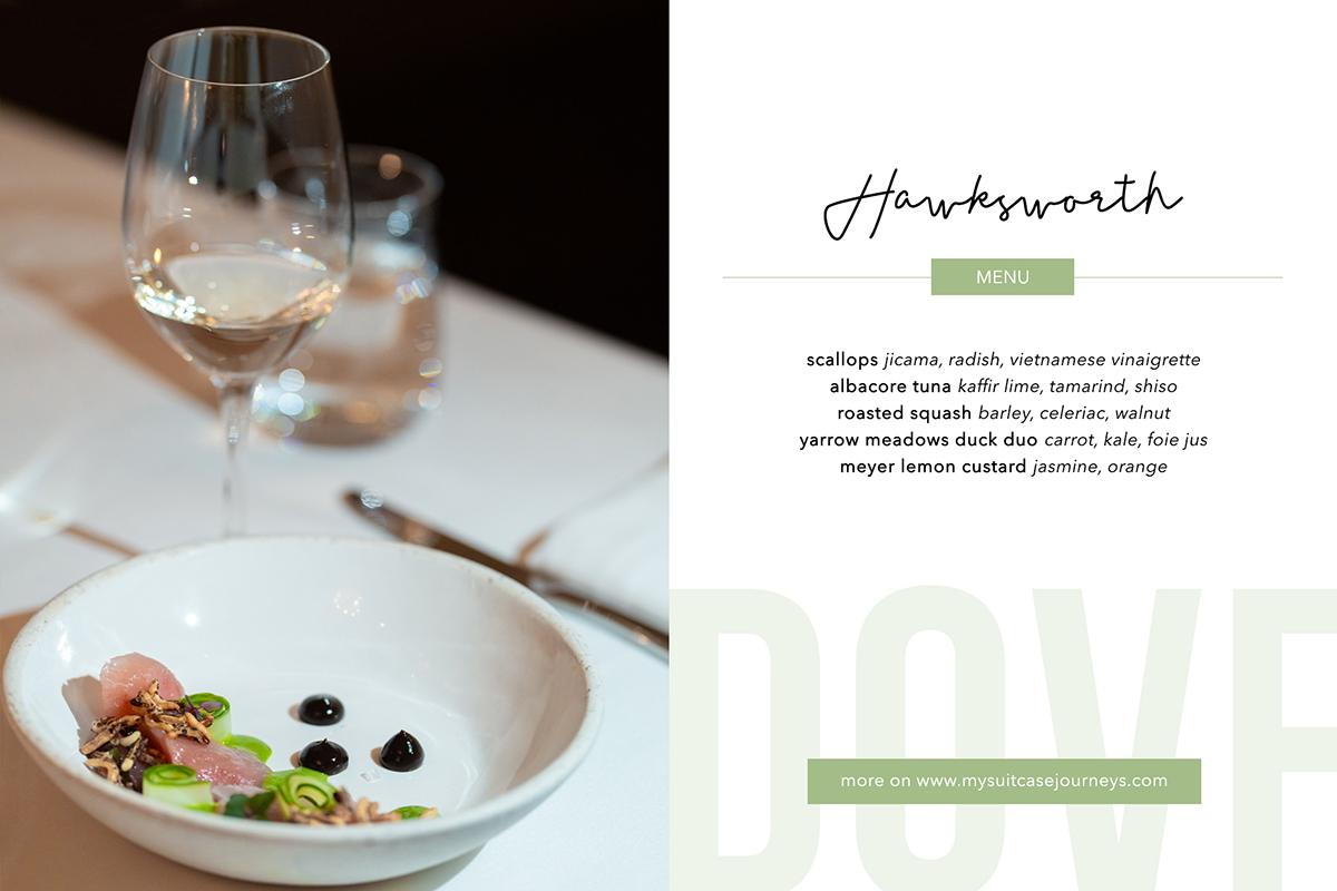 Five-course tasting menu by Chef Antonio Sotomayor.
