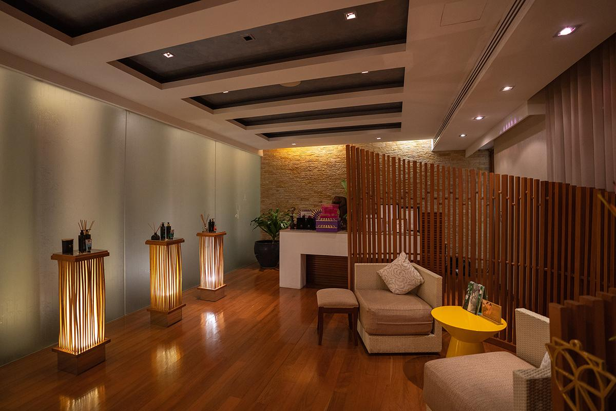 Evening spa session at Spa Botanica at The Sukhothai Bangkok.