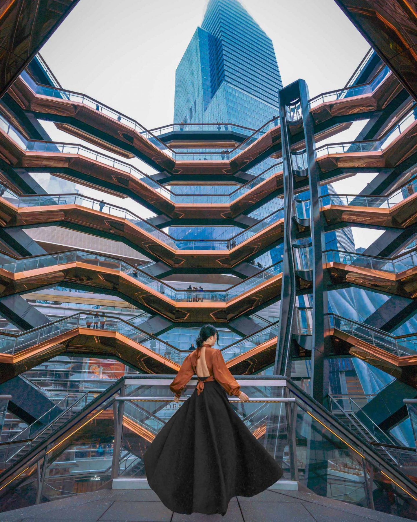 Hudson Yards Redevelopment Project - the Vessel.