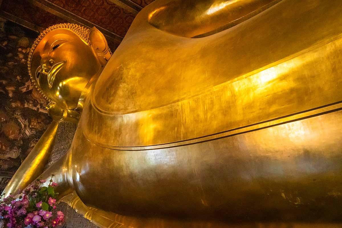 Wat Pho, Temple of the Reclining Buddha.