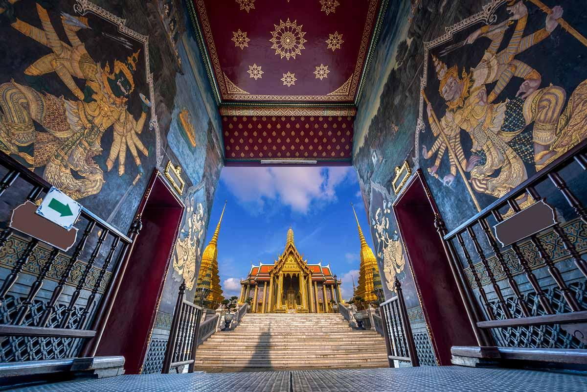 Wat Phra Kaew, part of Grand Palace.