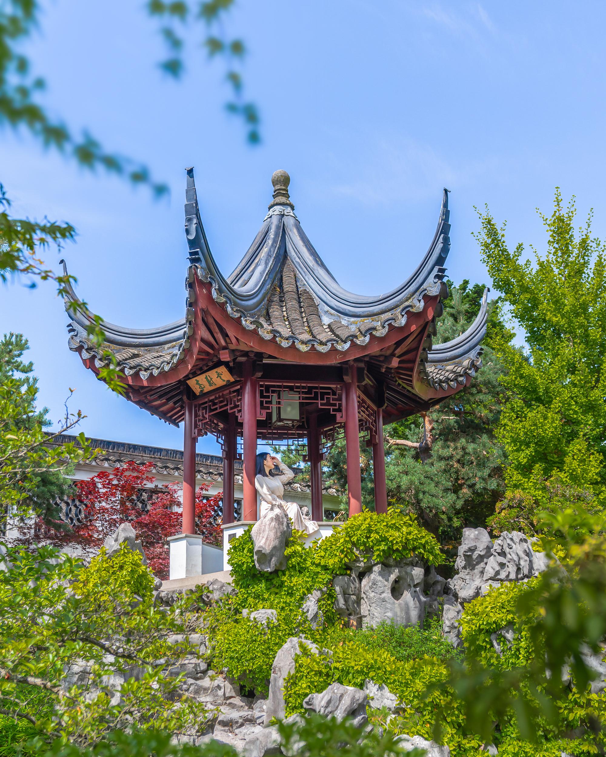 Ting at Dr. Sun Yat-Sen Classical Chinese Garden.