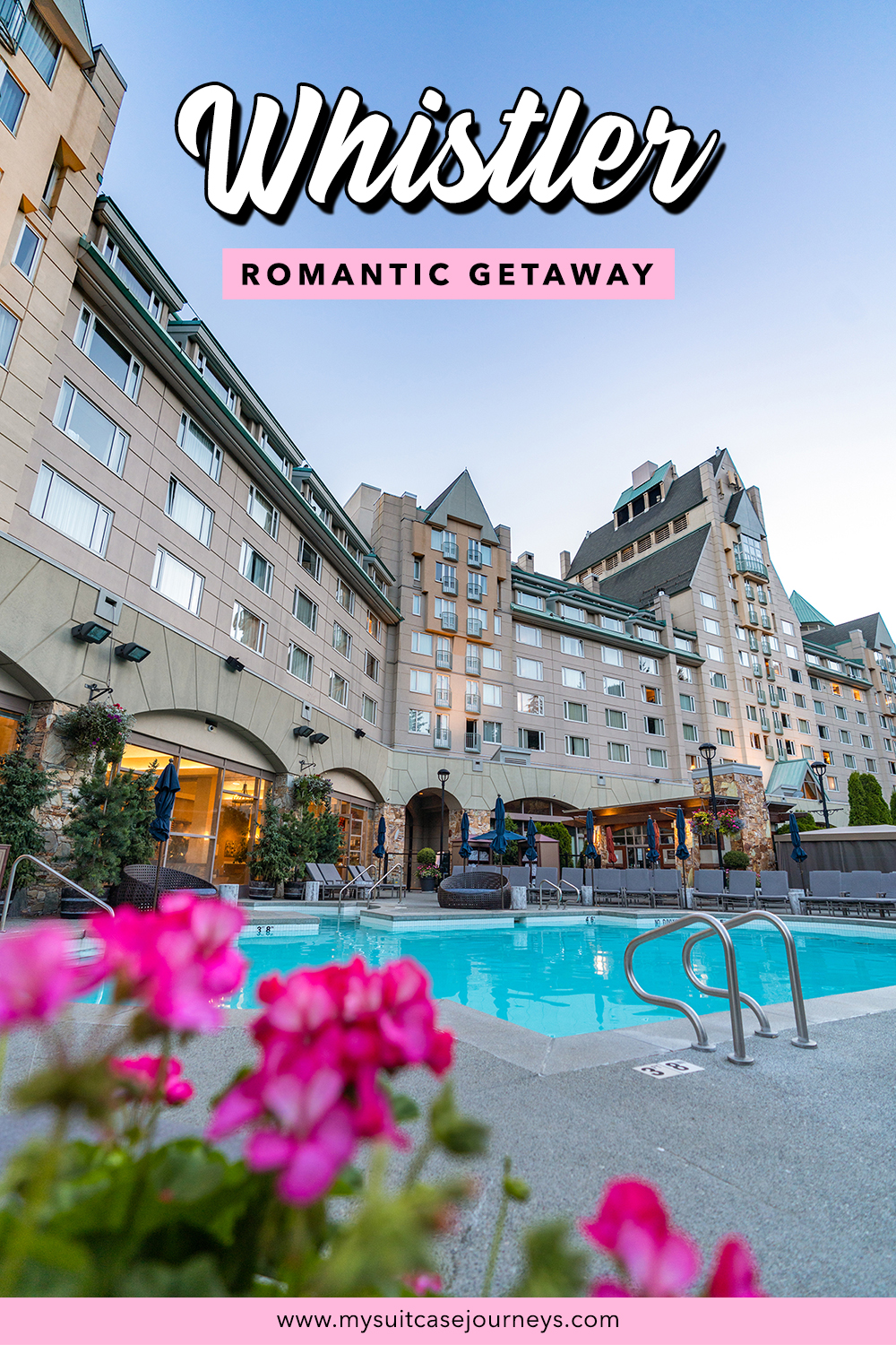 Treat yourself to a relaxing staycation at Fairmont Chateau Whistler.
