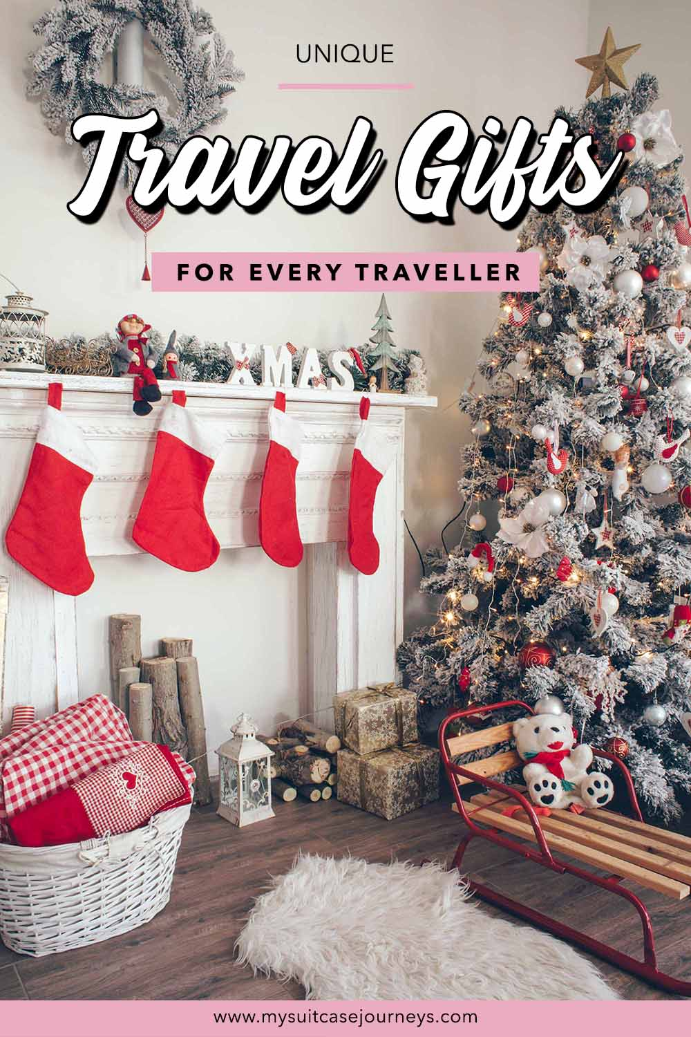 Don't wait until last minute to get your Christmas shopping done this year. Make gift-giving stress-free with these unique travel gift ideas!